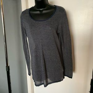 like nw Madewell Wallace blue/cream stripe sweater